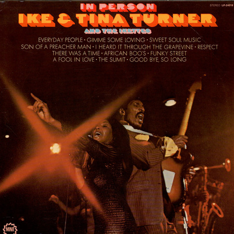 Ike & Tina Turner And The The Ikettes - In Person