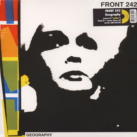 Front 242 - Geography Yellow Vinyl Edition