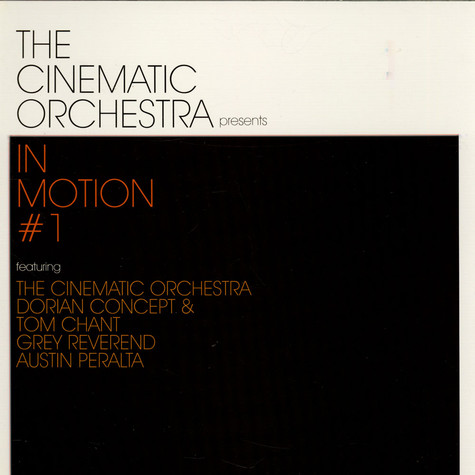 Cinematic Orchestra, The - In Motion #1