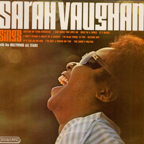 Sarah Vaughan - Sings With The Hollywood All Stars