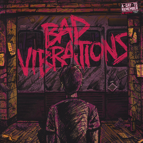 A Day To Remember - Bad Vibrations Black Vinyl Edition