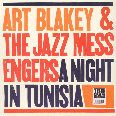 Art Blakey & The Jazz Messengers - A Night In Tunisia