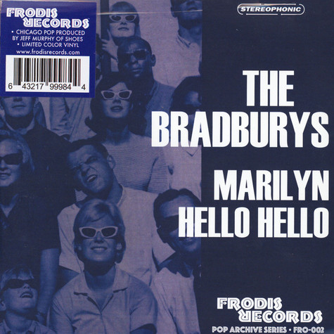 Bradburys, The - Marilyn Blue Vinyl Edition