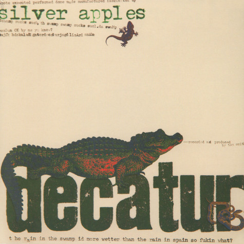 Silver Apples, The - Decatur Colored Vinyl Edition