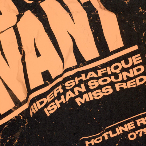Ishan Sound - A Wa Yu Want Ft. Rider Shafique & Miss Red / A Wa Yu Want  Kahn Remix