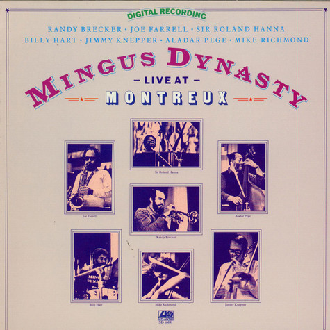 Mingus Dynasty - Live At Montreux