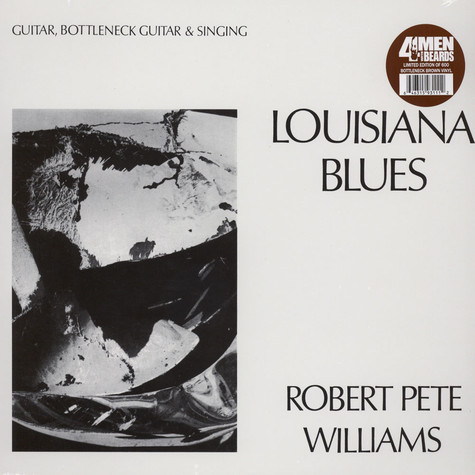 Robert Pete Williams - Louisiana Blues Brown Vinyl Edition