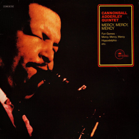 "Cannonball Adderley Quintet, The - Mercy, Mercy, Mercy (""Live At The Club"")"