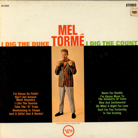 Mel Tormé - I Dig The Duke - I Dig The Count
