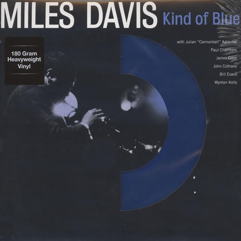 Miles Davis - Kind Of Blue -  Blue Vinyl Mono Edition