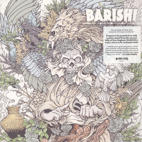 Barishi - Blood From The Lion's Mouth Black Vinyl Edition