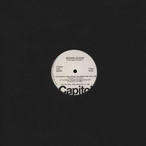 Brown Sugar & Brief Encounter - Capitol Disco Sampler
