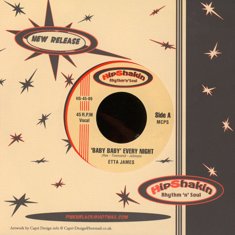Etta James - Baby Baby Every Night / Something's Got A Hold Of Me
