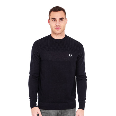 Fred Perry - Texture Mix Crewneck Sweater