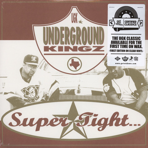UGK - Super Tight Clear Vinyl Edition