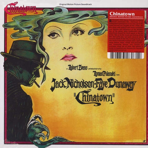 Jerry Goldsmith - OST Chinatown Black Vinyl Edition