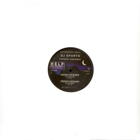 DJ Sports / SPCE - Person Hideaway