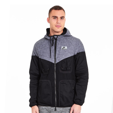 Nike - NK International Windrunner Jacket (Black)  1fdbab8261