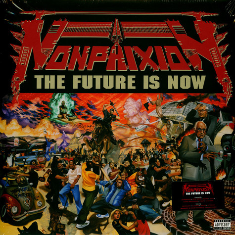Non Phixion - The Future Is Now Black Vinyl Edition