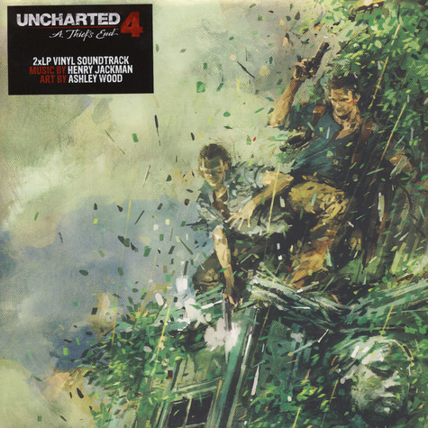 Henry Jackman Ost Uncharted 4 A Thief S End Vinyl 2lp
