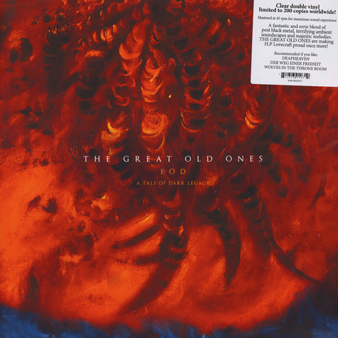 Great Old Ones, The - EOD: A Tale Of Dark Legacy Clear Vinyl Edition