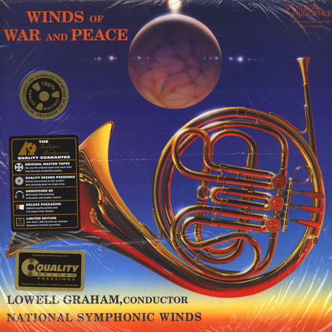Lowell Graham Conducts National Symphonic Winds - Winds Of War And Peace