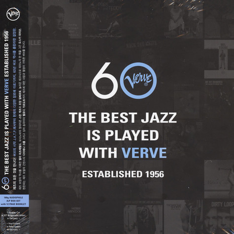 V.A. - The Best Jazz Is Played With Verve