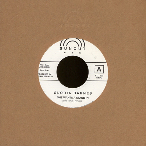 Gloria Barnes - She Wants A Stand In / You Don't Mean It