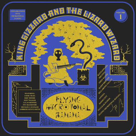 King Gizzard & The Lizard Wizard - Flying Microtonal Banana Colored Vinyl Edition