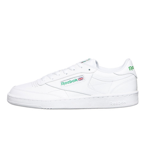afb2049012b68 Reebok - Club C 85 (White   Green)