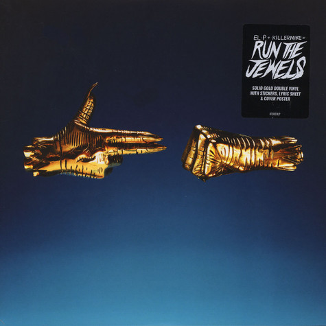 Run The Jewels (El-P + Killer Mike) - Run The Jewels 3 Gold Vinyl Edition