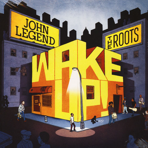 John Legend & The Roots - Wake Up! Orange Vinyl Edition