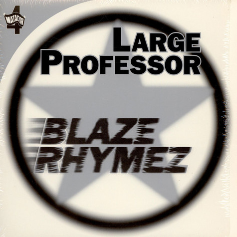 Large Professor - Blaze Rhymez