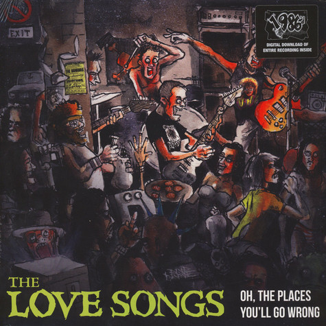 Love Songs, The - Oh, The Places You'll Go Wrong Black Vinyl Edition