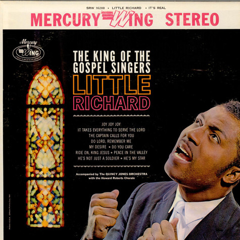 Little Richard The King Of The Gospel Singers - It´s Real