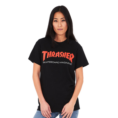 f926518c4 Thrasher - Women's Two-Tone Skate Mag T-Shirt (Black) | HHV