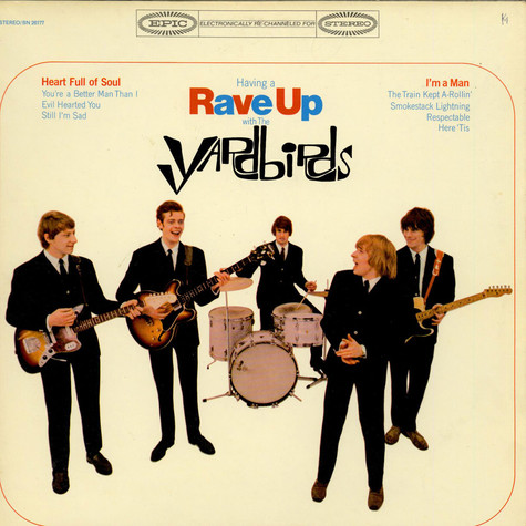 Yardbirds, The - Having A Rave Up With The Yardbirds