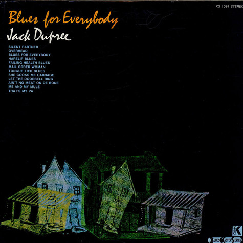 Jack Dupree - Blues For Everybody