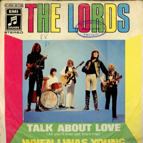 Lords, The - Talk About Love (All You´ll Ever Get From Me)