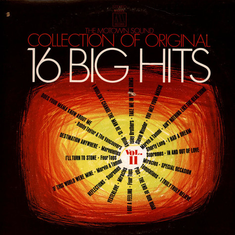V.A. - The Motown Sound - Collection Of Original 16 Big Hits Vol. II