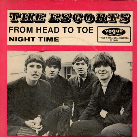 Escorts, The - From Head To Toe / Night Time