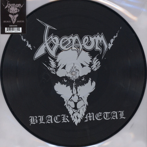 Venom - Black Metal Picture Disc Edition