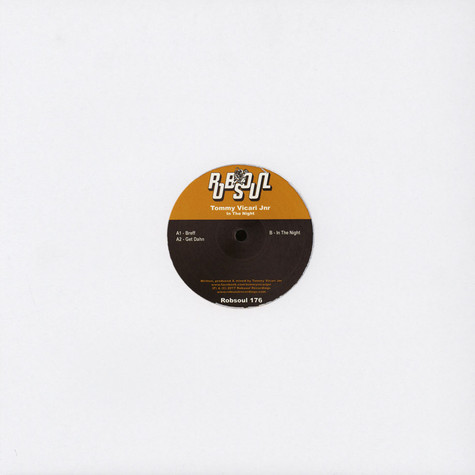 Tommy Vicari Jnr - In The Night EP