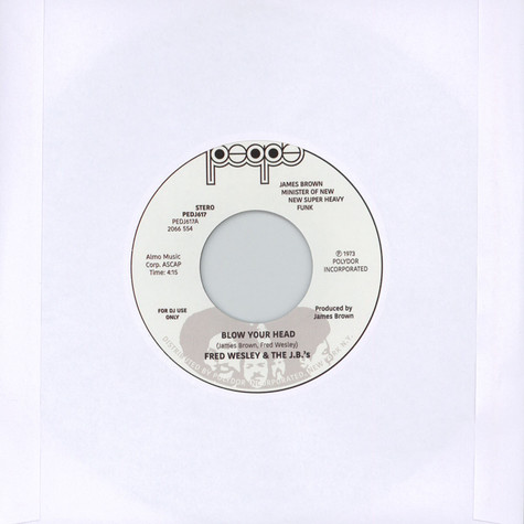 Fred Wesley & The J.B.'s - Blow Your Head / Same Beat Part 1