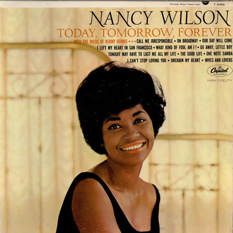 Nancy Wilson - Today, Tomorrow, Forever
