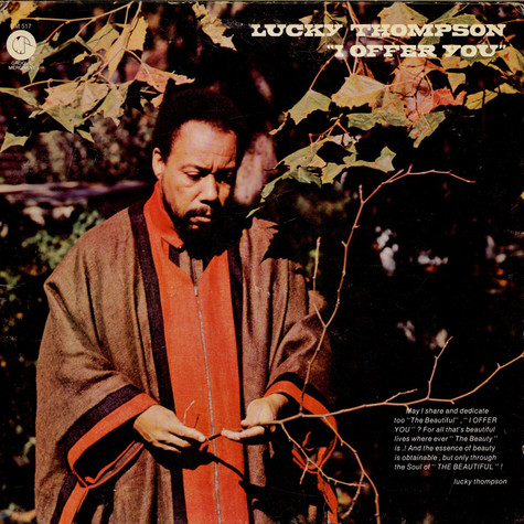 Lucky Thompson - I Offer You