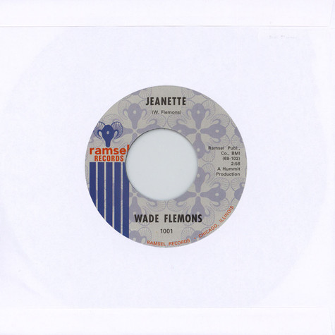 Wade Flemons - Jeanette / What A Price To Pay
