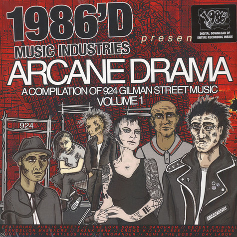 V.A. - Arcane Drama: A Compilation Of 924 Gilman Music, Volume 1