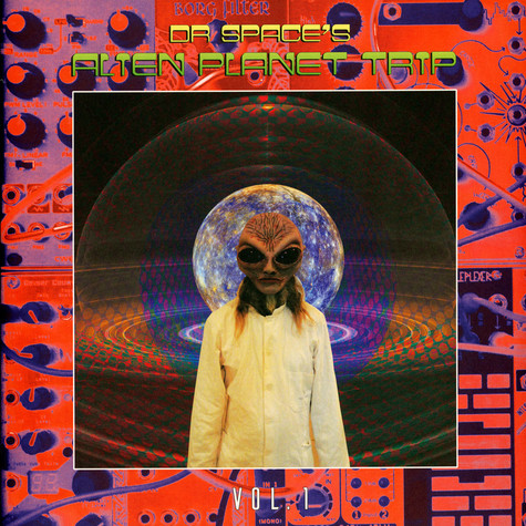 Dr. Space's Alien Planet Trip - Volume 1 Black Vinyl Edition