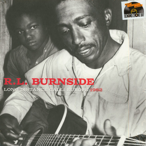 R.L. Burnside - Long Distance Call: Europe Recordings 1982